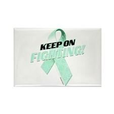 Keep on Fighting! Rectangle Magnet