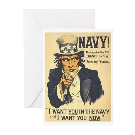 And I Want You NOW Greeting Cards (Pk of 20)
