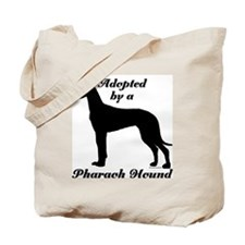 ADOPTED by Pharaoh Hound Tote Bag