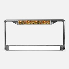 Colorful Tribal Aztec Geometr License Plate Frame
