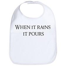 When it rains, Bib