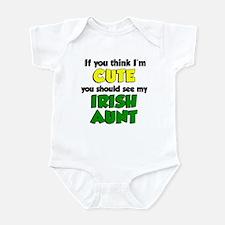 If You Think I'm Cute Irish A Infant Bodysuit
