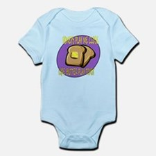 Notorious Buttered Toast Infant Bodysuit