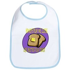 Notorious Buttered Toast Bib