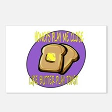 Notorious Buttered Toast Postcards (Package of 8)