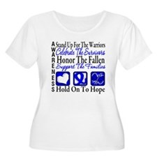Colon Cancer StandUp T-Shirt