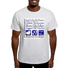 Colon Cancer StandUp T-Shirt