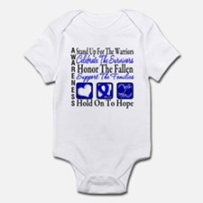 Colon Cancer StandUp Infant Bodysuit