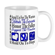 Colon Cancer StandUp Mug