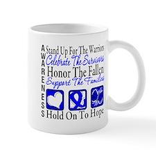 Colon Cancer StandUp Small Mug