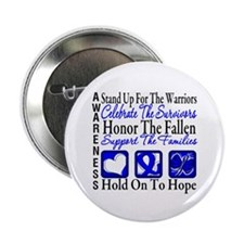 "Colon Cancer StandUp 2.25"" Button (10 pack)"