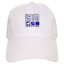 Colon Cancer StandUp Baseball Cap