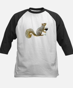 Squirrel with Wine Tee