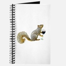 Squirrel with Wine Journal