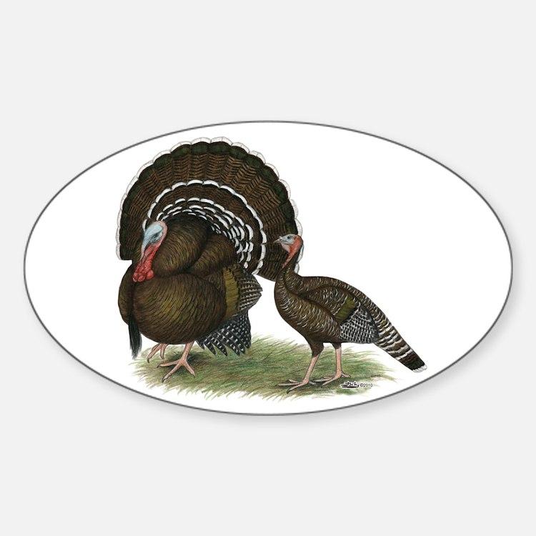 Turkey Standard Bronze Decal