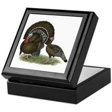 Turkey Standard Bronze Keepsake Box