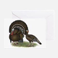Turkey Standard Bronze Greeting Card