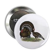 """Turkey Standard Bronze 2.25"""" Button (100 pack"""