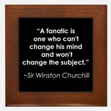 Churchill on Fanatics Framed Tile