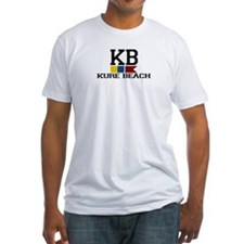 Kure Beach NC - Nautical Flags Design Shirt