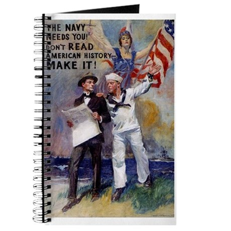 The Navy Needs You Journal