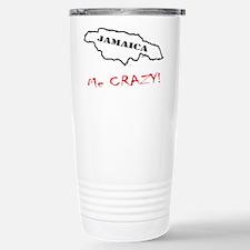 Jamaica me CRAZY! - Dark Travel Mug