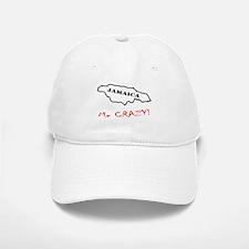 Jamaica me CRAZY! - Dark Baseball Baseball Cap