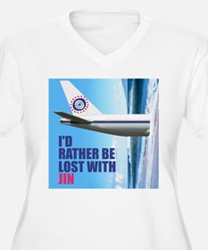I'd rather be lost with Jin T-Shirt