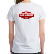 GoldWing Shop #Ride A Naked Tee