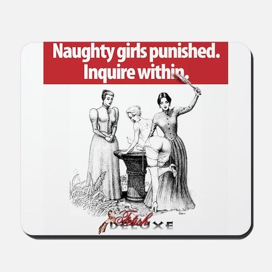 Naughty Girls Mousepad