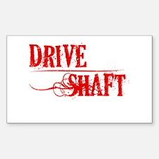 Drive Shafe Sticker (Rectangle)