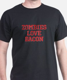 Zombies Love Bacon T-Shirt