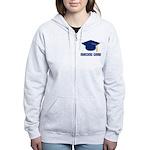 Blue Nursing Grad Women's Zip Hoodie