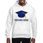 Blue Nursing Grad Hooded Sweatshirt