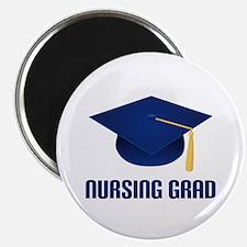 Blue Nursing Grad Magnet
