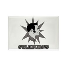 Starburns Rectangle Magnet