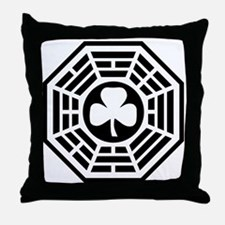 Lucky Station Throw Pillow