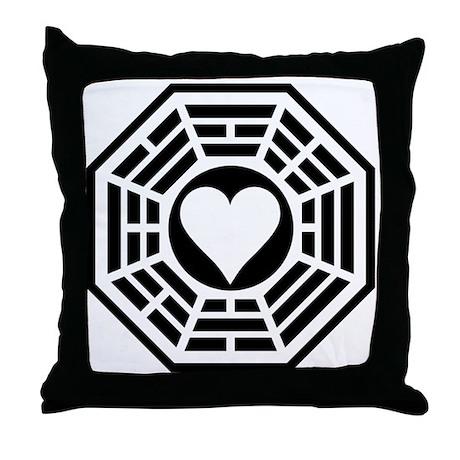 Valentine Station Throw Pillow