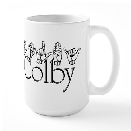 Colby Large Mug