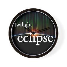 twilight eclipse Wall Clock