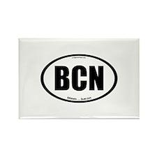BCN auto decal bacon Rectangle Magnet