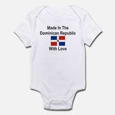 Made in the Dominican Republi Infant Bodysuit
