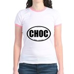 CHOC auto decal chocolate Jr. Ringer T-Shirt