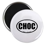 CHOC auto decal chocolate Magnet
