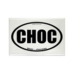 CHOC auto decal chocolate Rectangle Magnet (10 pac