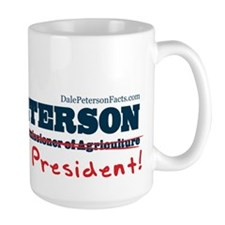 Dale Peterson for President Mug