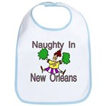 Mardi Gras Baby Bib
