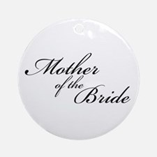 Mother of the Bride (FF) Ornament (Round)