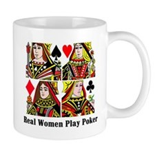 Real Women Play Poker Mug