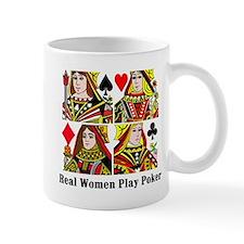 Real Women Play Poker Mug